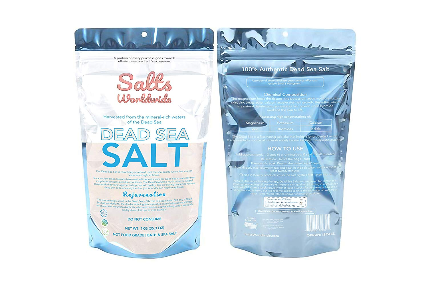 Using Dead Sea Salt