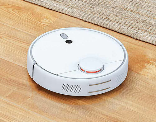 idle robot vacuum