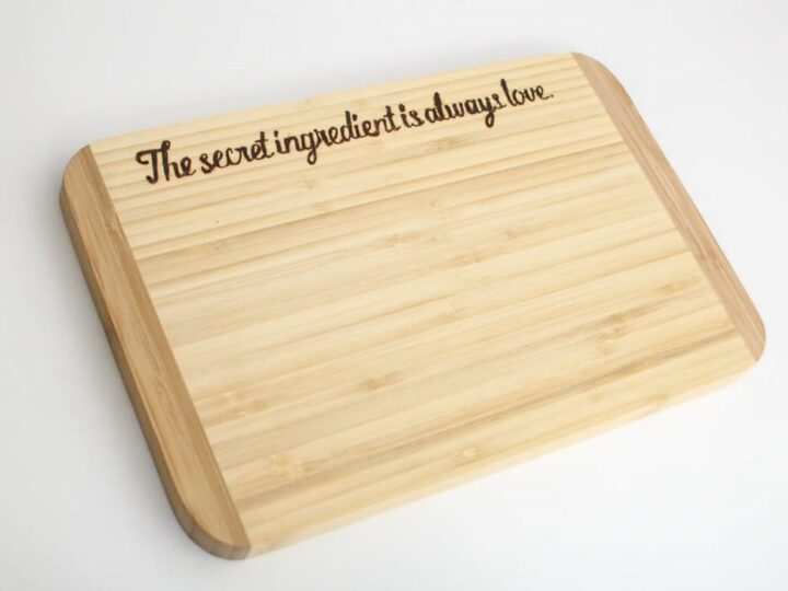 engraved cutting board ideas